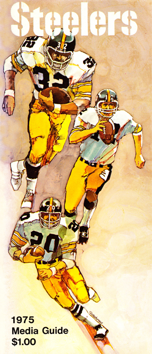 9588f99a521 With their first pick of the 1975 draft, the Steelers chose a defensive  back, Dave Brown of Michigan. Brown was rated highly by the Steelers with  their ...